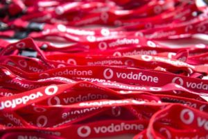Vodafone Schlüsselbänder