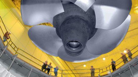 Kaplan-Turbine in Wanapum, USA