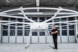 VoloDrone Chef-Ingenieur Christophe Hommet Volocopter