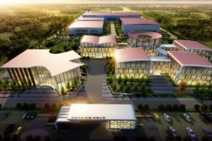 Das neue Forschungs- und Entwicklungszentrum von Volkswagen (Anhui) in der Provinz Anhui