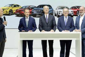 VW Diess, Pötsch, Weil, Osterloh, Together 2025