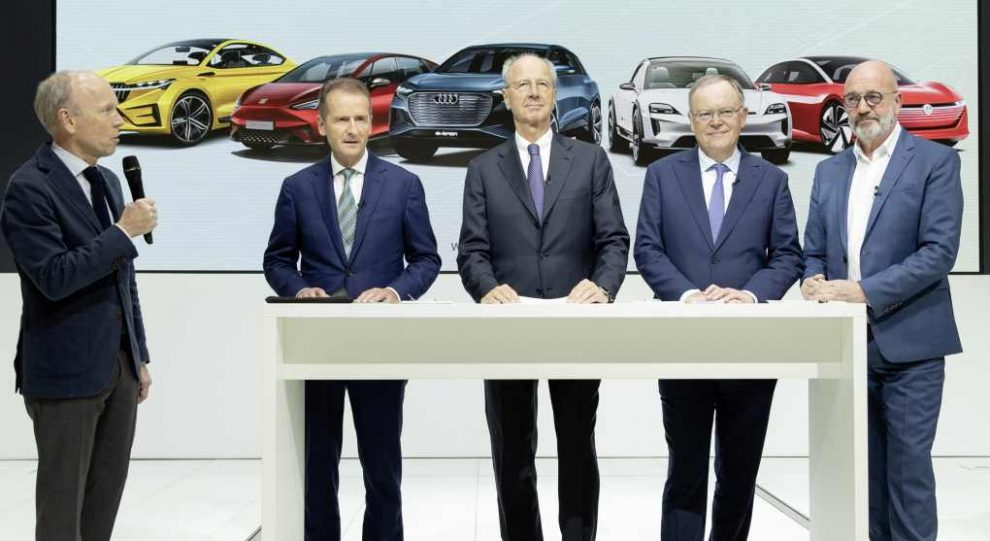 VW Diess, Pötsch, Weil, Osterloh, Together 2025