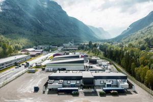 VW-Rechenzentrum in Rjukan, Norwegen
