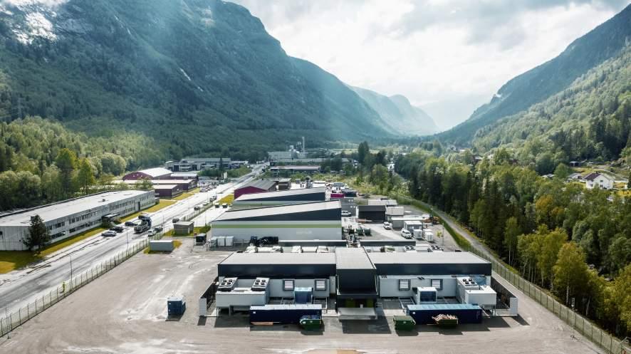 VW-Rechenzentrum in Rjukan, Norwegen
