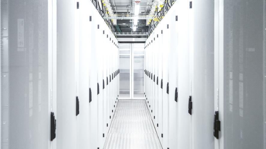 Serveranlagen von VW in Norwegen