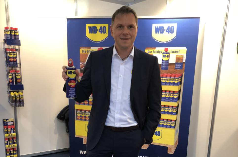 Ferdinand Weber WD-40 Sales Director Germany and Austria