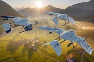 Wingcopter fliegen übers Land. Das hessische Unternehmen erhält eine Finanzspritze von 22 Mio. US-Dollar