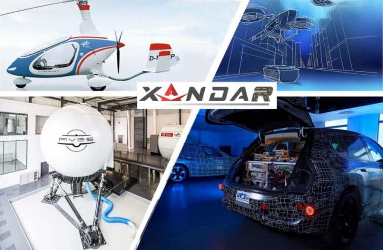 Autonome Fahrzeuge und Urban Air Mobility zählen zu den Anwendungen von XANDAR